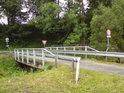 Silniční most přes Moravu u Podlesí.