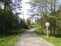 Most přes řeku Moravu na prodloužení hlavní trasy nad záchytným parkovištěm v obci Dolní Morava.