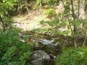 další z malých levostranných přítoků řeky Moravy v obci Dolní Morava.