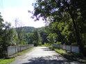 Dolní silniční most přes řeku Moravu v Bohdíkově.