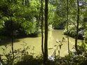 O některých souběžných vodních tocích podél řeky Moravy mezi Mikulčicemi a Týncem nelze s určitostí tvrdit, že byly vykopány lidmi, ani, že jsou zcela přirozené, nejspíše lidé pomohli.