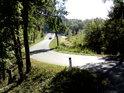 Prostor mezi pravým břehem Moravy a její hrází na silnici mezi obcemi Hohenau an der March a Moravský Svätý Ján.