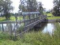 Stavidla levobřežního náhonu Moravy v Háji.