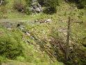 Řeka Morava tu na několika metrech zdolá takový výškový rozdíl, na který v dolním toku potřebuje několik kilometrů.