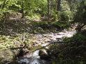Potok Kopřivák posiluje Moravu zprava.